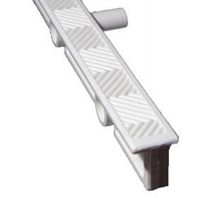 Σχάρες υπερχείλισης πλάτους 24cm κατασκευασμένη απο λευκό ABS με αντιολισθητική επιφάνεια.